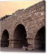 Aqueduct At Caesarea   Canvas Print