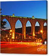 Aqueduct Of The Free Waters Canvas Print