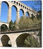 Aqueduct Roquefavour Canvas Print