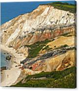Aquinnah Clay Cliffs Marthas Vineyard Canvas Print