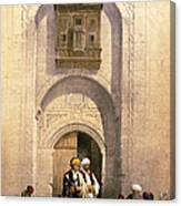 Arabesque Cairo Canvas Print