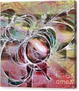Arabesque Design Canvas Print