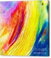 Arabian Desert Rainbow Canvas Print