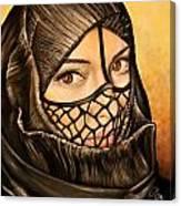 Arabian Girl Canvas Print