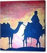 Arabian Sands Canvas Print