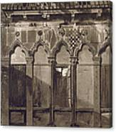 Arabian Windows, In Campo Santa Maria Canvas Print