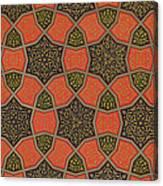 Arabic Decorative Design Canvas Print