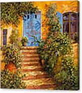 Arancio Caldo Canvas Print