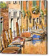 Arancio Sul Canale Canvas Print