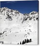Arapahoe Basin Ski Resort - Colorado          Canvas Print