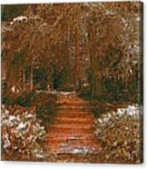 Arbor Steps Canvas Print