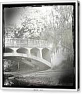 Arboretum Bridge Canvas Print