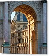 Arc De Triomphe Du Carrousel Canvas Print