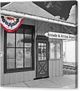 Arcade And Attica Depot Canvas Print