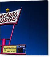 Arcadia Lodge Canvas Print