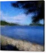 Arcadia Maine A La Manet Canvas Print