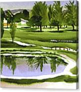 Arcadia Valley Country Club Dramatic Canvas Print