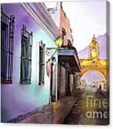 Arch- Antigua Canvas Print