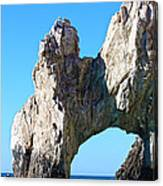 Arch At Land's End Canvas Print