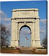 Arch At Valley Forge Canvas Print