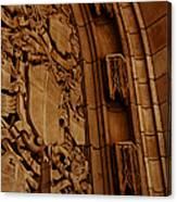 Arch Details Canvas Print