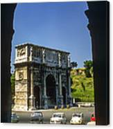 Arch Of Constantine Canvas Print