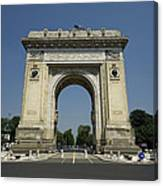 Arch Of Triumph Canvas Print