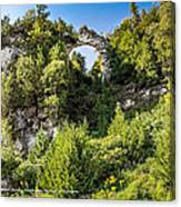 Arch Rock Mackinac Island Michigan Canvas Print