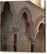 Arch Shadows Canvas Print