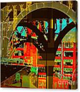 Arch Two - Architecture Of New York City Canvas Print