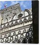 Arch View Canvas Print