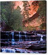 Archangel Cascades Canvas Print