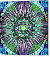Archangels Gather Mandala Canvas Print