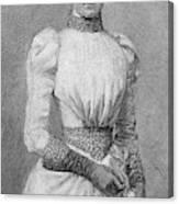 Archduchess Marie Valerie Of Austria Canvas Print