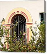 Arched And Gated Canvas Print