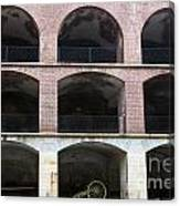 Arched Brick Portals Fort Point San Francisco Canvas Print