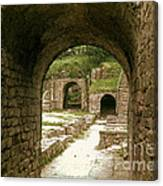 Arched Entrance To Fiesole Theatre Canvas Print