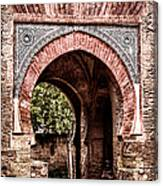 Arched  Gate Canvas Print