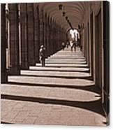 Arched Walk Way       Canvas Print