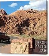 Arches National Park 2 Canvas Print