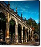 Arches And Statues Canvas Print