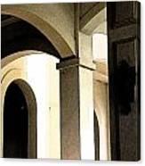 Arches Fresco Canvas Print