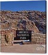 Arches National Park Utah Canvas Print