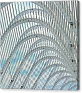Arches Of Steel Canvas Print