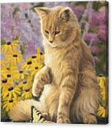 Archibald And Friend Canvas Print