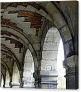 Architectural Artwork At Place De Vosges Canvas Print