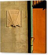 Architectural Detail 1a Canvas Print