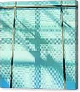 Architectural Detail Of Modern Shopping Canvas Print
