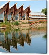 Architectural Reflections Canvas Print