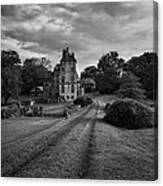 Architectural Treasure Bw Canvas Print